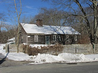 National Register of Historic Places listings in Bristol County, Massachusetts - Image: Elisha Allen House, Rehoboth MA