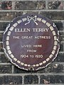 Ellen Terry The great actress lived here from 1904 to 1920.jpg