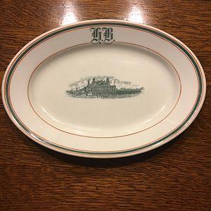 Frederick Loeser & Co. - Image: Ellis Island Platter