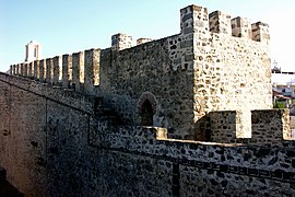 Elvas Castle, Alentejo, Portugal, 29 September 2005.jpg