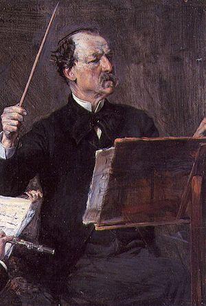 Emanuele Muzio - Emanuele Muzio, portrait by Giovanni Boldini
