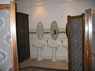 Embassy Theatre, Wellington - The bathrooms inside the Embassy Theatre