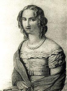 Emilie von Gleichen-Rußwurm um 1830 (Quelle: Wikimedia)