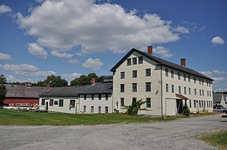 Enfield Shaker Museum - Image: Enfield Shaker Village Laundry Dairy