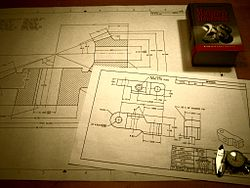 Engineering drawings with Machinery's Handbook.jpg