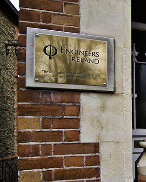 Institution of Engineers of Ireland - Engineers Ireland Headquarters at 22 Clyde Road, Ballsbridge, Dublin 4