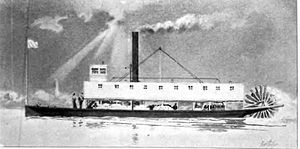 Enterprise (1855) - Enterprise (1855 sternwheeler)