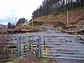 Entrance to forestry road - geograph.org.uk - 1170536.jpg