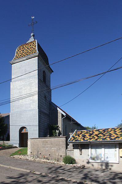 Église d'Épenouse (Doubs).