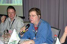 alt=Description de l'image Eric Allman at INTEROP.jpg.