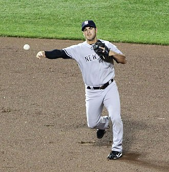 Eric Chavez - Chavez with the New York Yankees