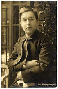 Erich Wolfgang Korngold 1912