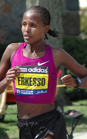 Freihofer's Run for Women - Teyba Erkesso of Ethiopia was the 2009 race winner.