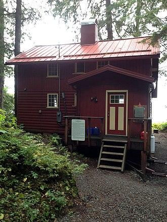 Ernest Gruening Cabin - Image: Ernest Gruening Cabin 82