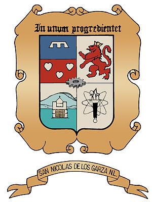 San Nicolás de los Garza - Image: Escudo San Nicolas