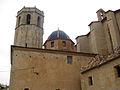 Església Arxiprestal de Sant Mateu, campanar i cúpula.jpg