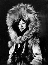 Eskimo woman by Lomen Brothers, ca. 1915