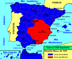 vitoria espanha mapa Ofensiva final da Guerra Civil Espanhola – Wikipédia, a  vitoria espanha mapa