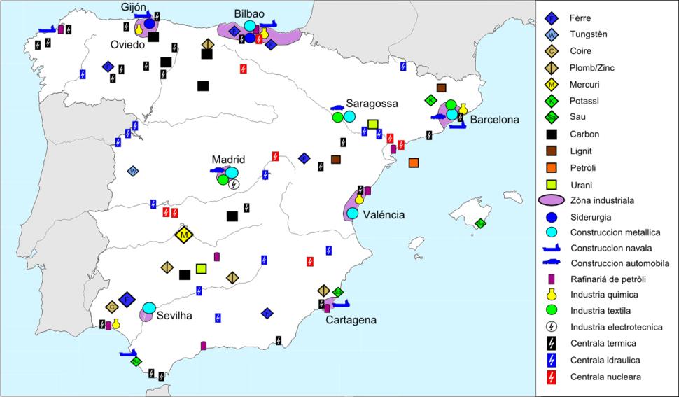Espanha - Industria & Energia