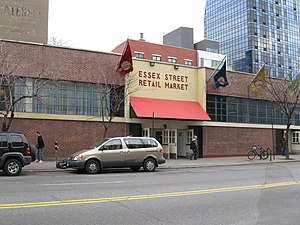 Essex Crossing - Essex Street Market, pre-reconstruction