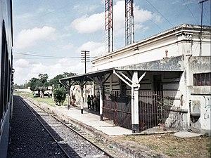Tren de los Pueblos Libres - Pilar, terminus in Argentina.