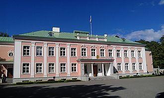 President of Estonia - Estonia's Presidential Palace in Kadriorg Park