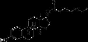 Estradiol enanthate - Image: Estradiol enanthate