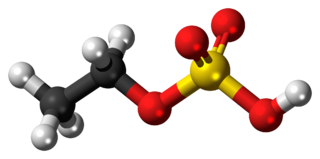 Ethyl sulfate Chemical compound