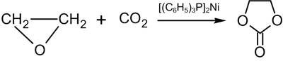 Ethylene carbonate synthesis