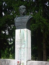 pijani hrvatski i albanski vojnici pevali ustaške pesme 200px-Eugen_Kvaternik_Statue%2C_Rakovica