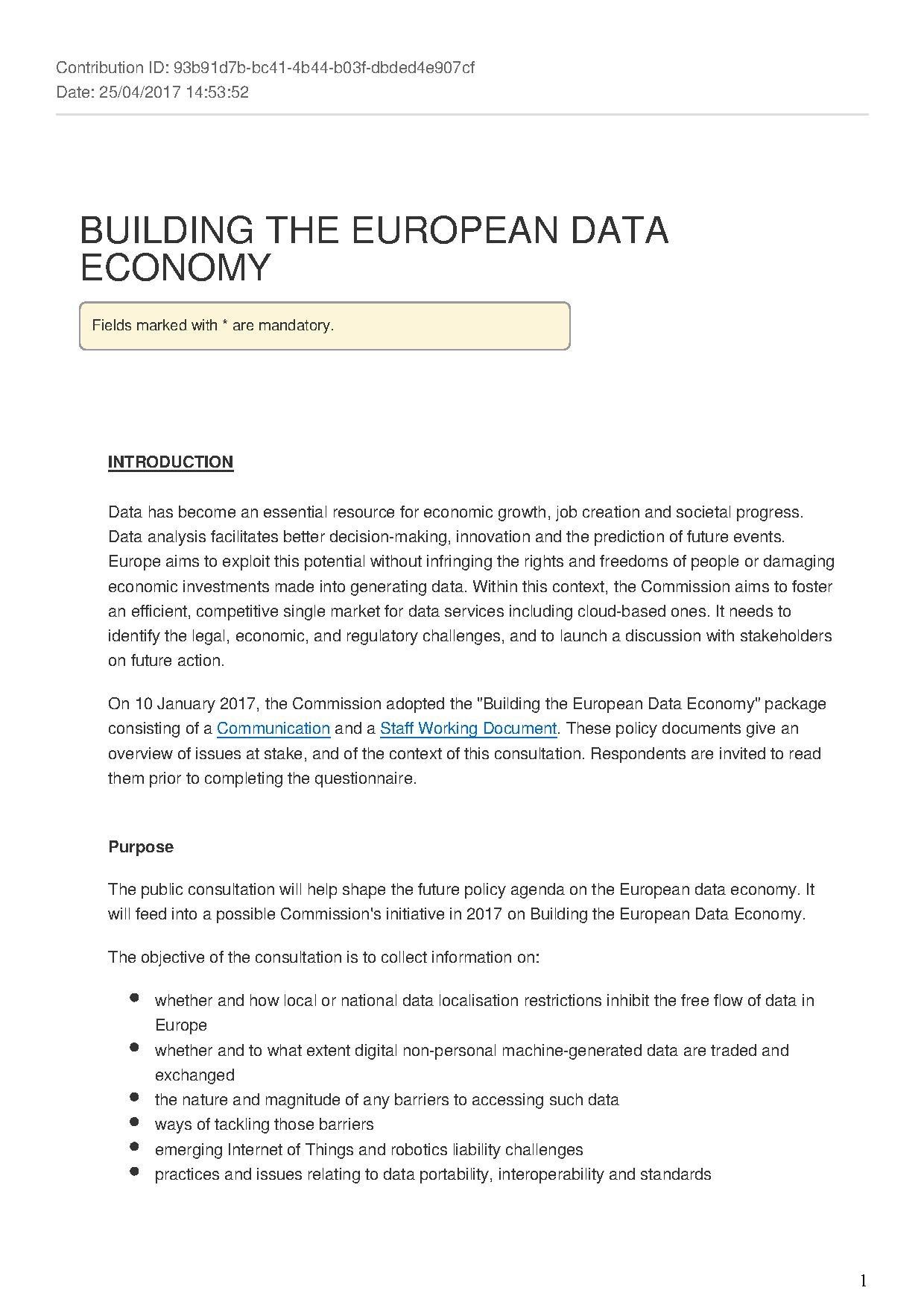 File:European Data Economy Consultation - Answers pdf