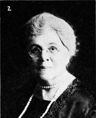 Eva Emery Dye - Eva Emery Dye as depicted in a collage of eminent Oregon women, in the 1928 book Women of the West