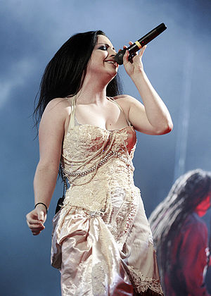 The Open Door - Amy Lee during a concert in 2007