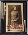 "Evangeline Booth on ""The secret of the Salvation Army's success"" at City Auditorium LCCN00650432.jpg"