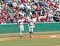 Evansville at Arkansas baseball, 2013 032.jpg