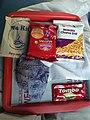 Evening snacks on Sealdah Rajdhani.jpg