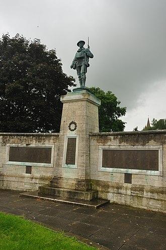 Henry Poole (sculptor) - Evesham War Memorial
