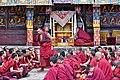 Examination of monks, Tashilhunpo Monastery, Shigatse, Tibet (10).jpg