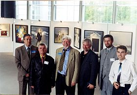 Exhibition Chernobyl from eyes of Belarusian artists in NATO Headquarters in Brussel 2000 03.jpg