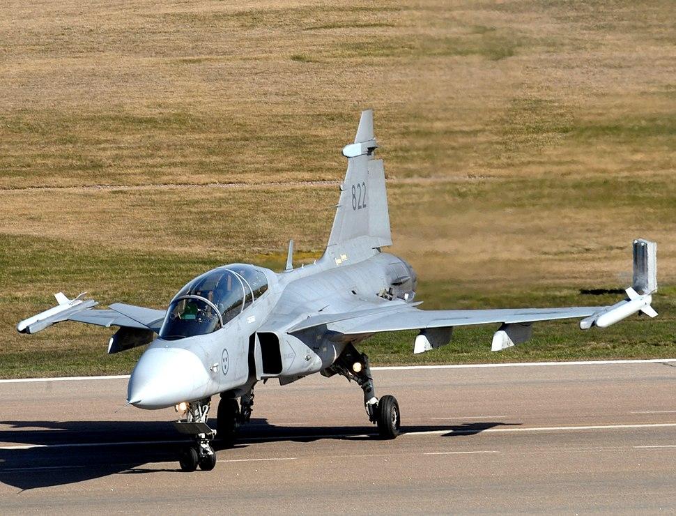 Exibição do Caça Gripen NG para comitiva Brasileira na SAAB (13701901404)