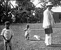 Expedition member, children in backyard (3795474515).jpg