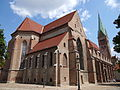 Exterior of St. Mary's Cathedral - Augsburg - Germany.jpg