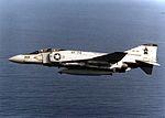 F-4J of VF-74 First in Phantoms in flight in 1981.jpg