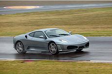 Ferrari F430 en el Circuito de Fiorano.