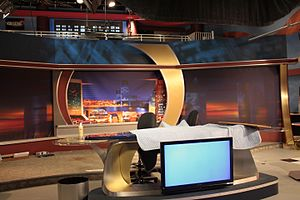 WTLV - First Coast News' new high definition ready set, designed by FX Group.