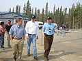 FEMA - 41841 - Alaska Governor Sean Parnell is briefed by Federal Coordinating Officer Doug Mayne and staff.jpg