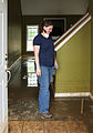 FEMA - 44084 - Resident of Clarksville surveying her flood damaged home.jpg