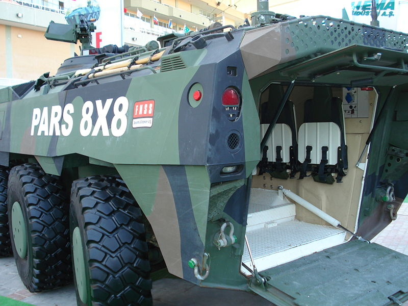 Armored Combat vehicules APC/IFV (blindés..) 800px-FNSS_Pars_arka_gorunum