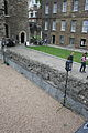 FORMER DOCK RETAINING WALLS TO MOAT AROUND JEWEL HOUSE, OLD PALACE YARD SW1 3.jpg