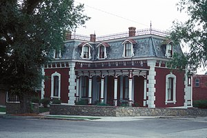 National Register of Historic Places listings in Platte County, Missouri - Image: FREDERICK KRAUSE MANSION